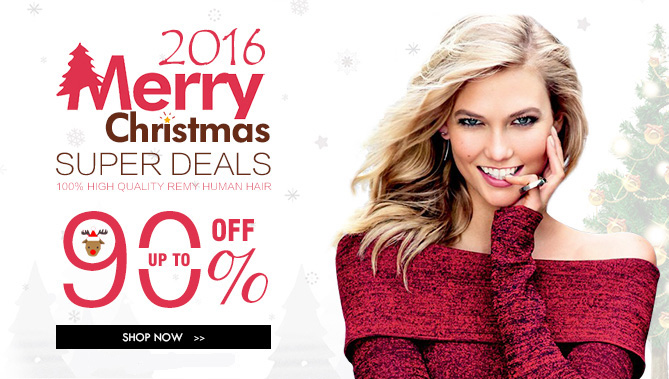 2016 Hair Extensions Christmas Sale