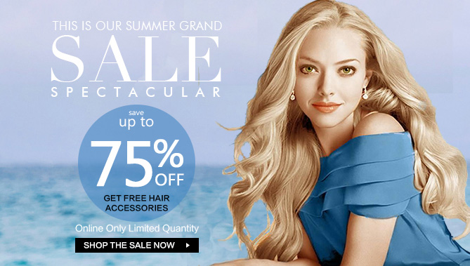 2016 Summer Hair Extensions Sale