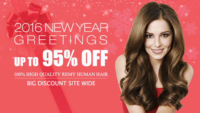 2016 New Year Hair Extensions Sale