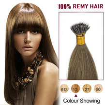 18 inches Golden Brown(#12) Nano Ring Hair Extensions