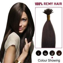 18 inches Dark Brown(#2) Nano Ring Hair Extensions