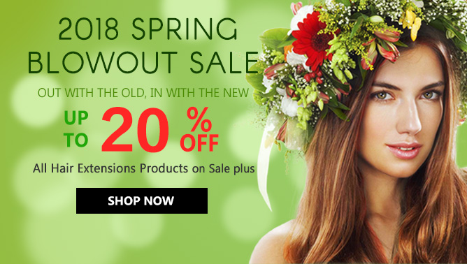 2018 Spring Blowout Sale USA