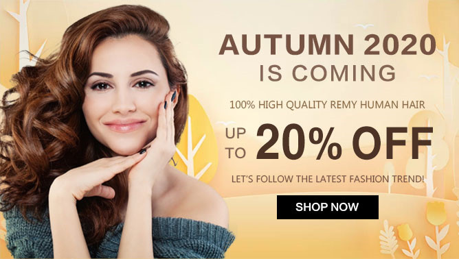 2020 Autumn Hair Extensions Sale USA