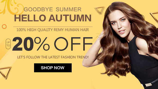 2019 Hair Extensions Autumn Sale USA