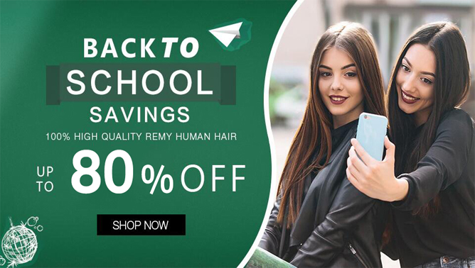 2021 Hair Extensions Back to school Sale