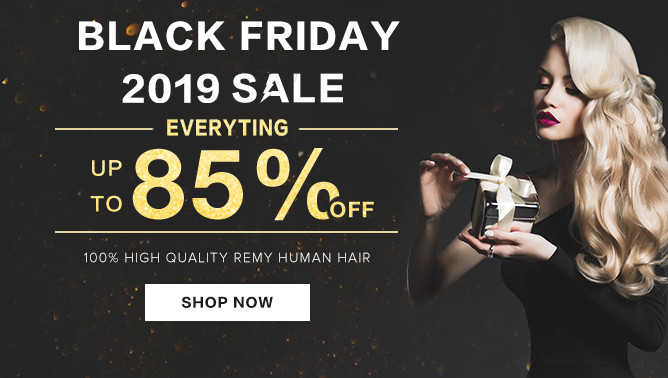 2019 Black Friday Hair Extensions Sale USA