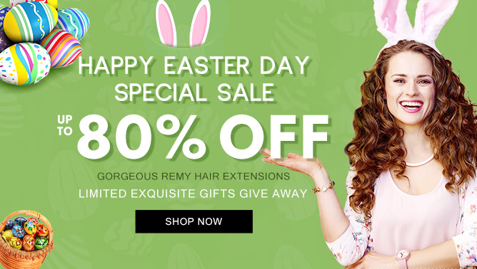 2019 Hair Extensions Easter Day USA