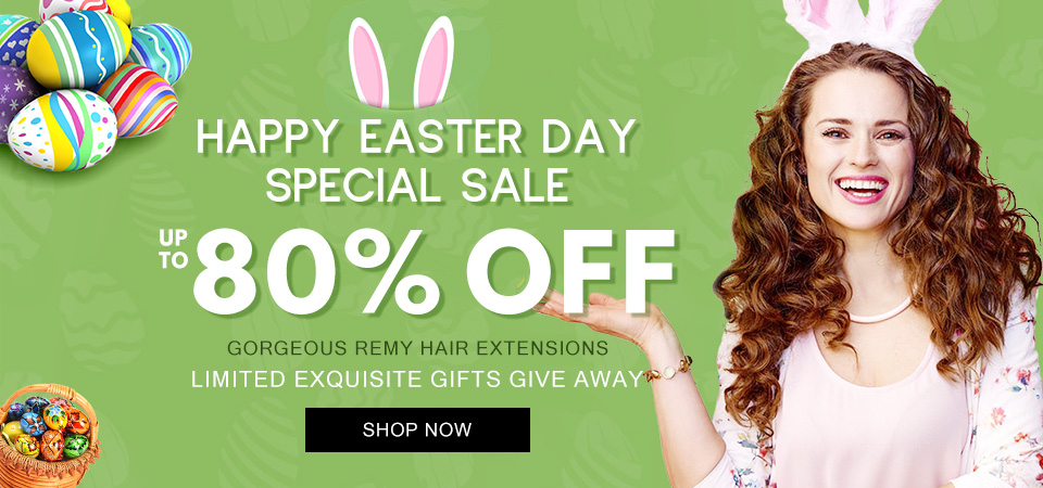 2019 hair extensions happy easter day sale usa