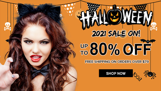 2021 Halloween Sale with our Hair Extensions UK