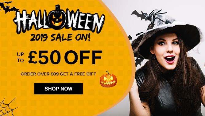2019 Halloween Sale with our Hair Extensions UK