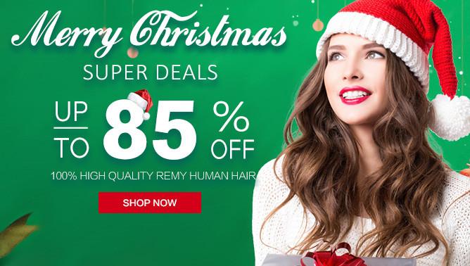 2018 Hair Extensions Christmas Sale USA