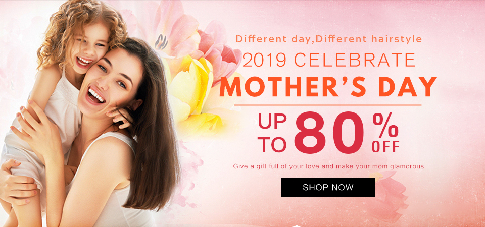 2019 hair extensions mother day sale usa