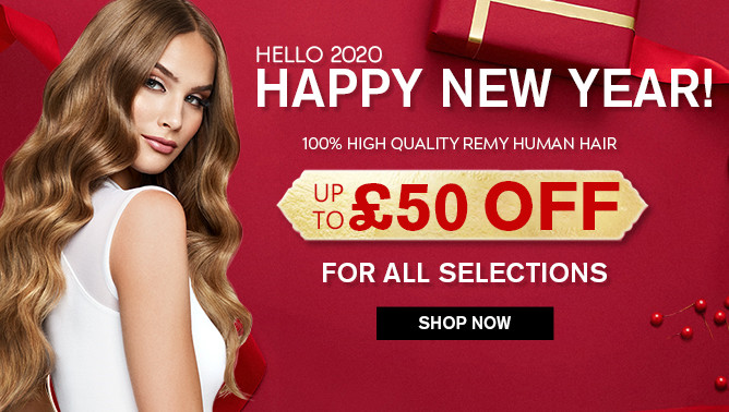 2020 New Year Sale with our Hair Extensions UK