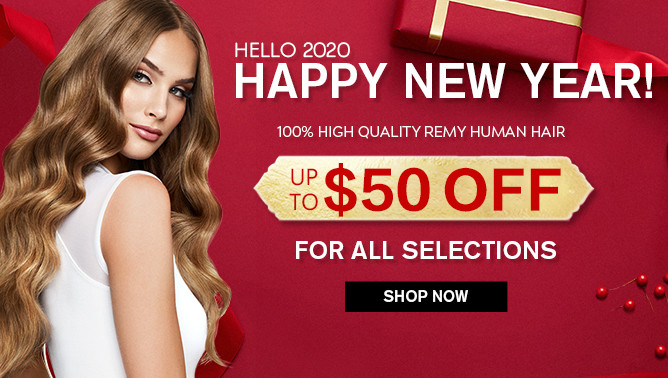 2020 New Year Hair Extensions Sale USA