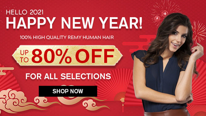 2021 Hair Extensions New Year Sale