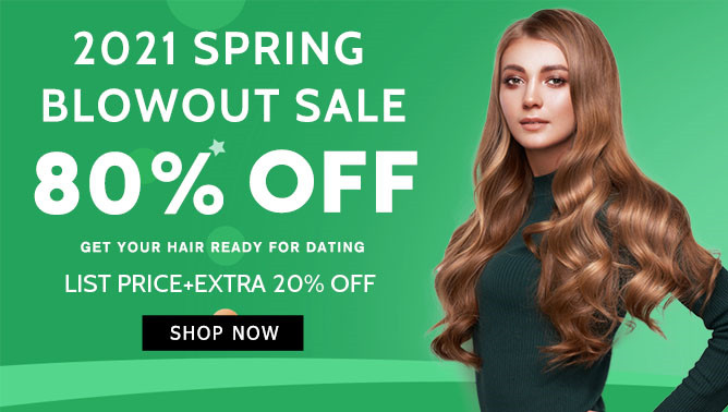 2021 Hair Extensions Spring Sale