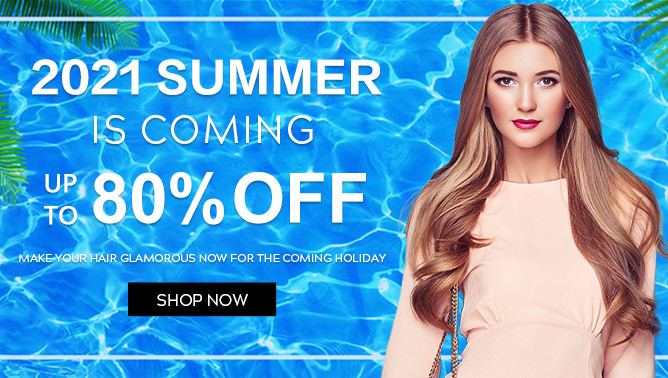 2021 Summer Sale with our Hair Extensions UK