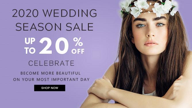 2020 Wedding Season Hair Extensions Sale USA