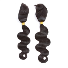 10 inches 12 inches Wefts 1B# Natural Black Braid In Bundles Body Wave 2PCS