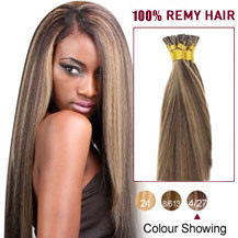 16 inches #4/27 Stick Tip Human Hair Extensions Straight