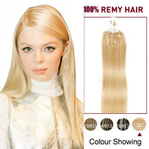 16 inches (#22) Micro Loop Human Hair Extension