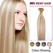 "20"" #18/613 50s Nano Ring Human Hair Extensions"