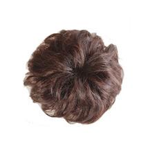Bun Hair Piece Extension Synthetic Hairpiece Updo Deep Chestnut Brown 1 Piece