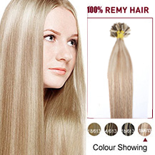 16 inches #18/613 50s Nail Tip Human Hair Extensions