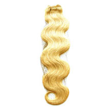 16 inches Ash Blonde (#24) Body Wave Indian Remy Hair Wefts