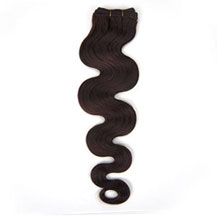 14 inches Dark Brown (#2) Body Wave Indian Remy Hair Wefts