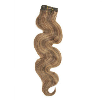 20 inches Brown/Blonde (#4/27) Body Wave Indian Remy Hair Wefts