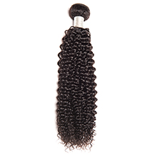 10 inches Dark Brown #2 Kinky Curly Brazilian Virgin Hair Wefts