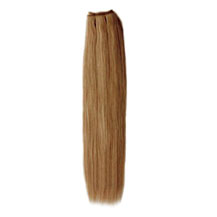 28 inches Golden Brown (#12) Straight Indian Remy Hair Wefts
