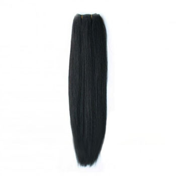 10 inches Natural Black (#1b) Straight Indian Remy Hair Wefts