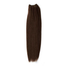 24 inches Medium Brown (#4) Straight Indian Remy Hair Wefts