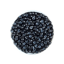 500pcs Black Nano Rings With Silicone for Hair Extensions