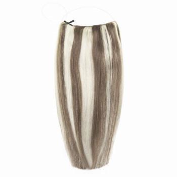 18 inches 50g Human Hair Secret Hair Brown/Blonde (#8/613)