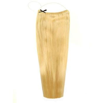 18 inches Human Hair Secret Hair Bleach Blonde (#613)