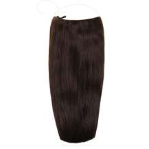 18 inches Human Hair Secret Extensions Dark Brown (#2)