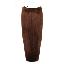 18 inches Human Hair Secret Extensions Medium Brown (#4)