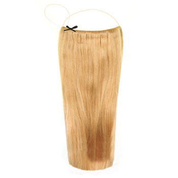 18 inches Human Hair Secret Hair Extensions Honey Blonde (#22)
