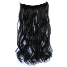Body Wavy Synthetic Secret Hair Jet Black (#1)