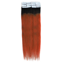 16 Inches #1B/30 Tape In Ombre Human Hair Extensions