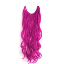 Body Wavy Synthetic Secret Hair #Purple