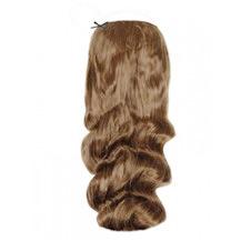 """20"""" 50g Human Hair Secret Hair Extensions Wavy Golden Brown (#12)"""