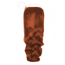 "20"" 50g Human Hair Secret Extensions Wavy Dark Auburn (#33)"
